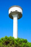 Concrete water tower Royalty Free Stock Photos