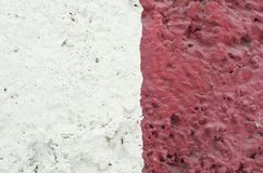 Concrete, weathered, worn out wall, damaged paint. Artistic texture of wall royalty free stock photos