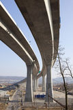 Concrete wegbrug Royalty-vrije Stock Foto