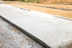 Concrete Wegenbouw Stock Fotografie