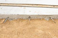 Concrete Wegenbouw Stock Afbeelding