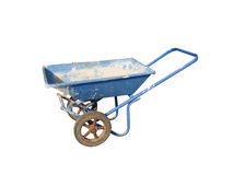 Concrete wheel barrow Royalty Free Stock Image