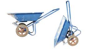 Concrete wheel barrow Royalty Free Stock Image