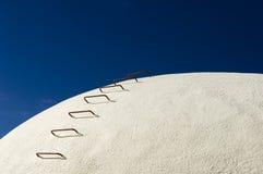 Concrete wijntanks Stock Foto's