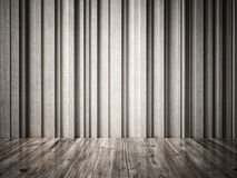 Concrete and wood Royalty Free Stock Photos