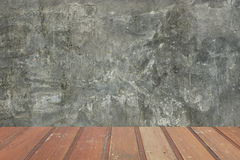 Concrete and wooden background. This is concrete and wooden background royalty free stock photos
