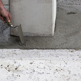 Concrete work Stock Photos