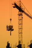 Concrete work stock image