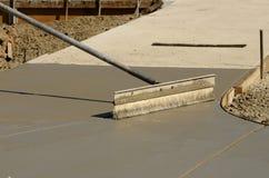 Concrete Work Stock Photo