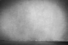 Concrete zwart-witte muur Royalty-vrije Stock Foto
