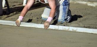 Concreting пол стоковая фотография rf