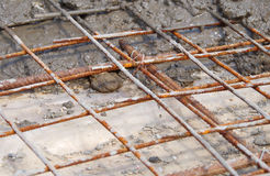 Concreting concrete slabs Stock Images