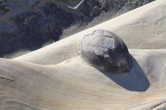Concretion. At Shore Acres State Park, Oregon stock photography
