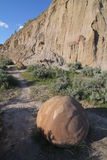 Concretion, Theodore Roosevelt National Park, North Dakota Stock Images