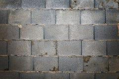 Concreto áspero do tijolo da parede Foto de Stock