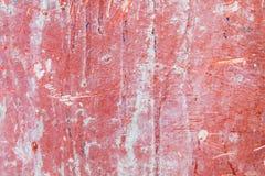 Concreto áspero vermelho Imagens de Stock Royalty Free