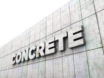 Concreto Imagem de Stock Royalty Free