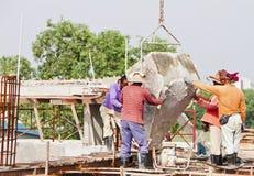 Concreto de carcaça Imagem de Stock