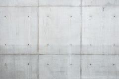 Concreto monolítico da parede Fotos de Stock Royalty Free