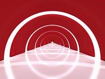 Concreto rojo ilustración del vector