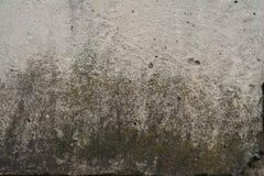 Concreto velho com decalque fotos de stock