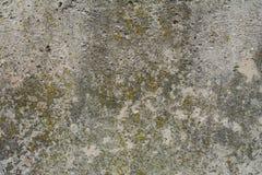 Concreto velho com decalque fotografia de stock