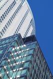 Concreto, vidrio y acero Imagenes de archivo