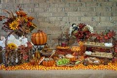 Concurreer uitgespreid Halloween stock fotografie