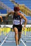 Concurrence d'athlétisme Photographie stock