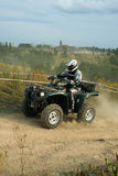 Concurrence d'ATV Image stock