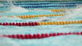 Concurrence dans les sports nageant clips vidéos
