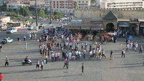 Concurrence de boîte dans Meknes, Maroc Photo libre de droits