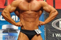 Concurrence de bodybuilding Photo libre de droits