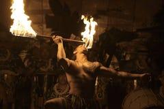 Concurrence de Fireknife Photo libre de droits