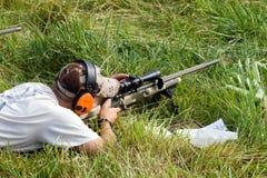 concurrence de la charité 3-Gun Images libres de droits