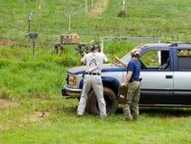 concurrence de la charité 3-Gun Photos libres de droits