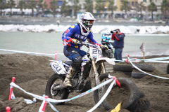 Sport Ligurie de MX Moto de Trofeo Photographie stock libre de droits