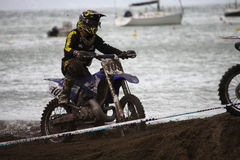 Sport Ligurie de MX Moto de Trofeo Photos libres de droits