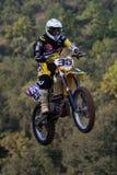 Concurrence de motocross Ligue catalanne de course de motocross Image libre de droits