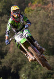 Concurrence de motocross Ligue catalanne de course de motocross Photo stock