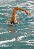 Concurrence de natation Photo stock