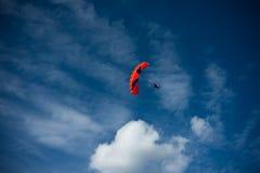 Concurrence de Parachutism Image libre de droits