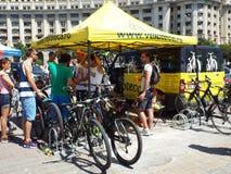Concurrence de recyclage à Bucarest Image libre de droits