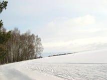Concurrence de ski Photos stock