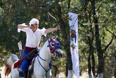 Concurrence de tir à l'arc en Turquie Photos libres de droits