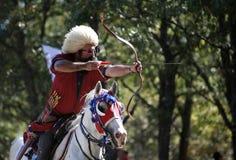Concurrence de tir à l'arc en Turquie Photographie stock