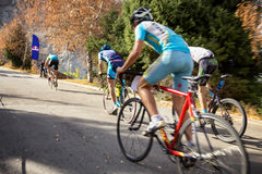 Concurrence de vélo Photo libre de droits