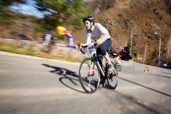 Concurrence de vélo Images libres de droits