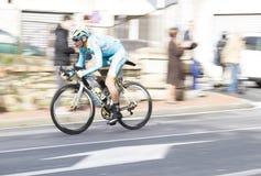 Concurrence professionnelle de vélo de Milan Sanremo photographie stock libre de droits