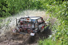 Concurrence tous terrains Smolyan 4x4 Bulgarie - Smolyan Images stock